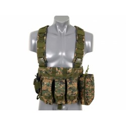 HARNAIS COMMANDO RECON DIGITAL WOODLAND