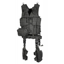 GILET UTG ULTIMATE TACTICAL GEAR NOIR