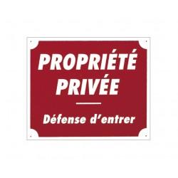"PANNEAU AKYLUX ""PROPRIETE PRIVEE"""