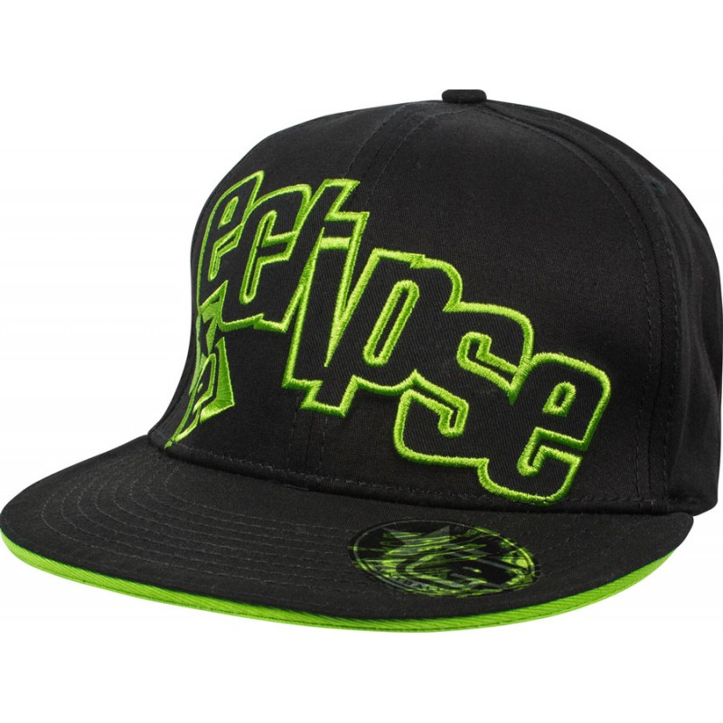 CASQUETTE ECLIPSE BRAZEN BLACK GREEN S/M