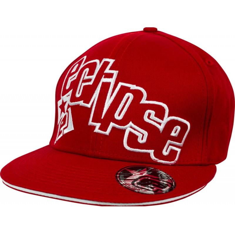 CASQUETTE ECLIPSE BRAZEN RED WHITE L/XL