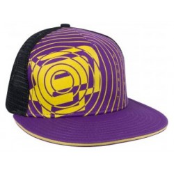 CASQUETTE ECLIPSE SPIRO PURPLE YELLOW