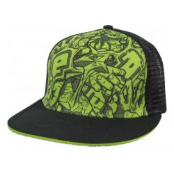 CASQUETTE ECLIPSE STRETCH  BLACK GREEN