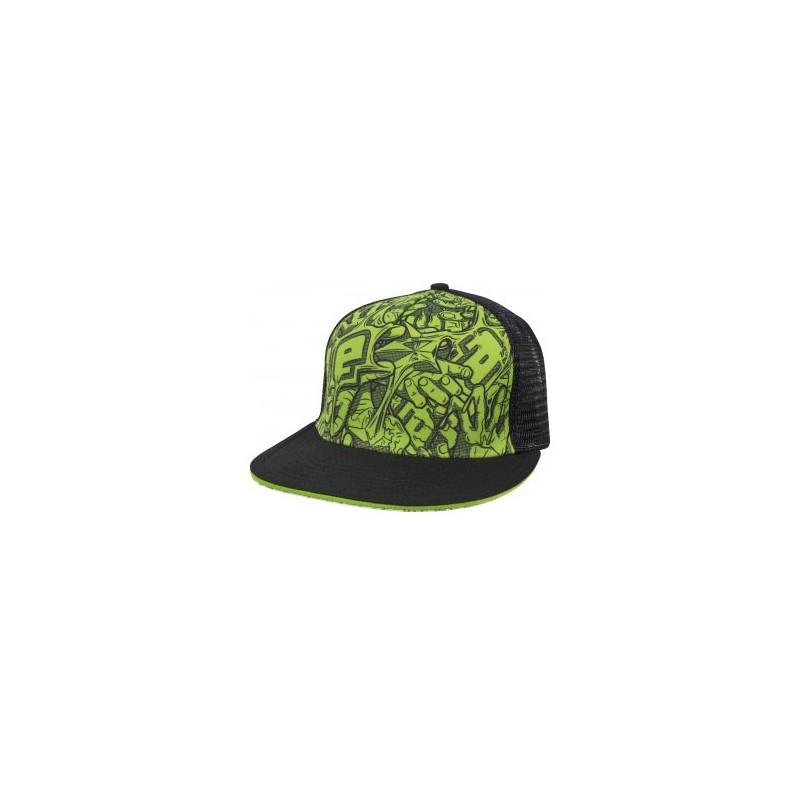 CASQUETTE ECLIPSE STRETCH  BLACK GREEN