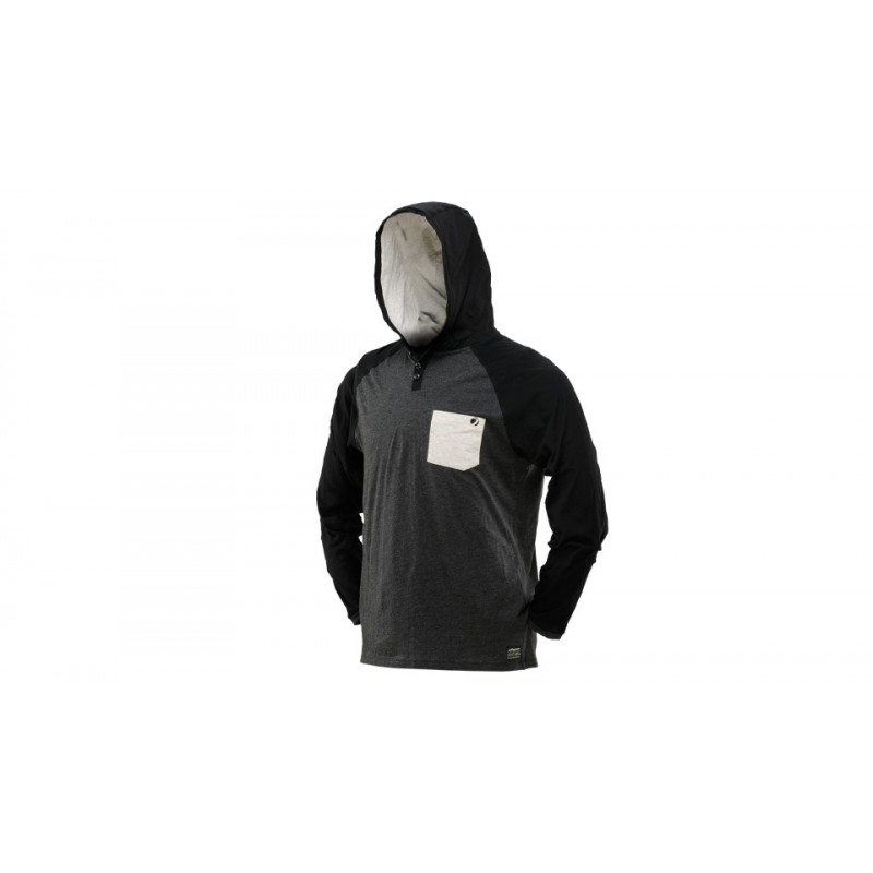 SWEAT SHIRT DYE COBA GRIS NOIR MPBG 62 PaintballSweat shirt
