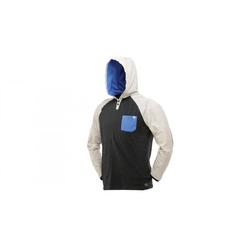 SWEAT SHIRT DYE COBA GRIS BLEU XLPBG 62 PaintballSweat shirt