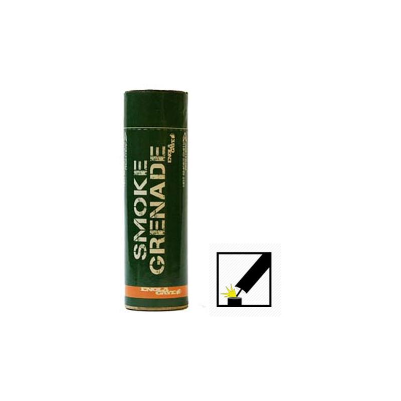 FUMIGENE FRICTION LARGE ORANGEPBG 62 PaintballGrenades et Fumi