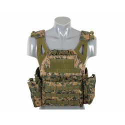GILET PLATE CARRIER LIGHTWEIGHT DIGITAL WOODLAND