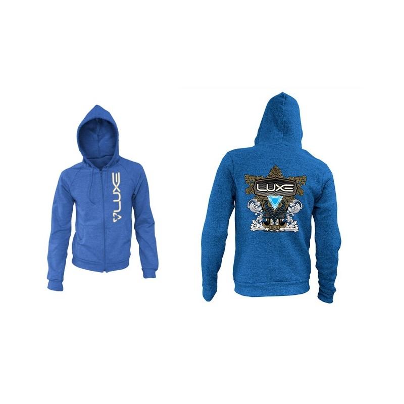 SWEAT DLX LUXE SNOW PATROL TEAL MPBG 62 PaintballSweat shirt