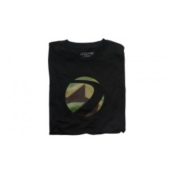 TEE SHIRT DYE BARRACKS NOIR S