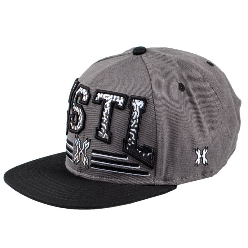 CASQUETTE HK ARMY GRIND CHARCOAL/NOIRPBG 62