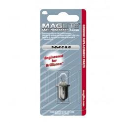 AMPOULE XENON POUR LAMPE TORCHE MAGLITE 5
