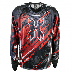 JERSEY HK ARMY HARDLINE H15 FURY (BLACK/RED) M