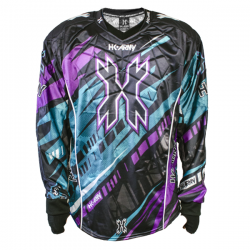 JERSEY HK ARMY HARDLINE H15 SURGE (PURPLE/TEAL) XL