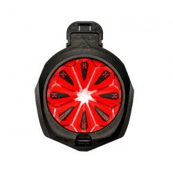 SPEED FEED HK ARMY TFX EPIC LAVA  RED BLACK