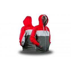 SWEAT HOMME ECLIPSE TRACK RED S