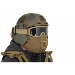 MASQUE DARK BROWN TACTICAL HALF FACE PROTECTION