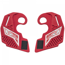 PROTECTION OREILLE EMPIRE EVS ROUGE/BLANC