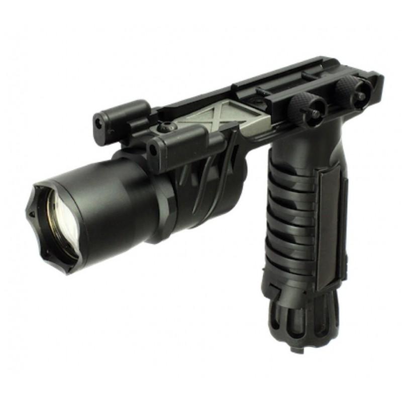 LAMPE LED S&T M910 AVEC POIGNEE NOIREPBG 62Poignées et bi pieds