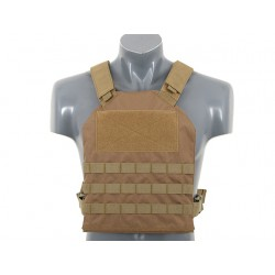 GILET PLATE CARRIER SIMPLE TAN