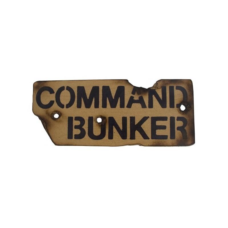 PANNEAU COMMAND BUNKER