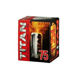 CARTOUCHES A BLANC TITAN 9MM P.A.K PAR 75