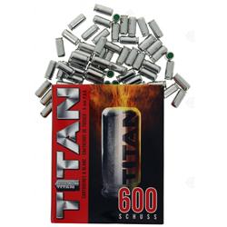 CARTOUCHES A BLANC TITAN 9MM P.A.K PAR 600