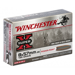 WINCHESTER 8X57JRS SP 195G PP