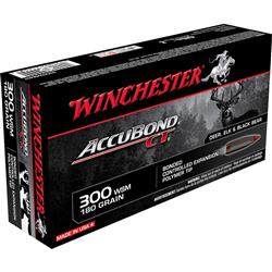 WINCHESTER 300WSM ACCUBOND CT 180GR