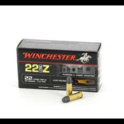 WINCHESTER 22LR SANS POUDRE X50