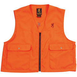 GILET BROWNING DE SECURITE TAILLE L FLUO AVEC POCHES