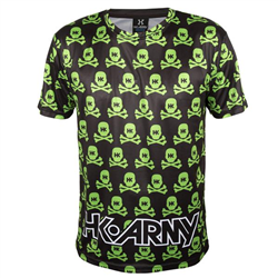 DRYFIT HK ARMY ALL OVER BLACK GREEN L