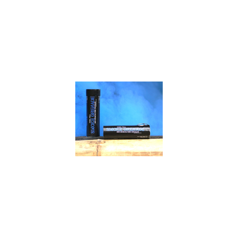 FUMIGENE WIRE PULL BLEUPBG 62 PaintballGrenades et Fumi