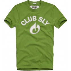 TEE SHIRT SLY CLUB NEON GREEN M