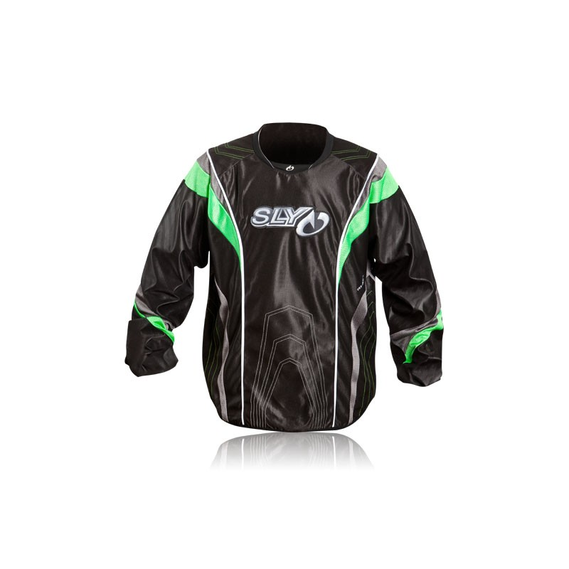 JERSEY SLY S12 PRO-MERC NEON GREEN S