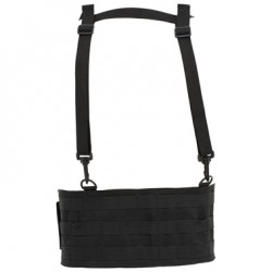 HARNESS- V-TAC MOLLE HARNESS/BELT-BLACK-L/XL