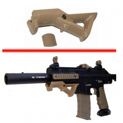 FOREGRIP D ANGLE WEAVER OLIVE