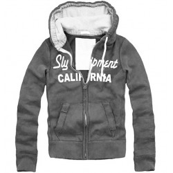 SWEAT SLY CALIFORNIA GRIS XL