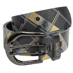 CEINTURE ECLIPSE TAILORED BLACK GOLD