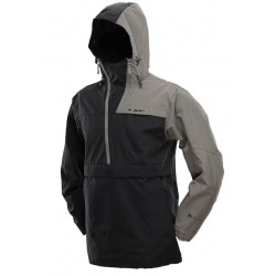 JACKET DYE PULLOVER BLACK GRAY S
