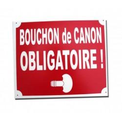 PANNEAU BOUCHON DE CANON OBLIGATOIRE