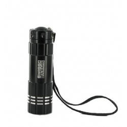 LAMPE FLASHLIGHT SWISS ARMS MINI NOIR