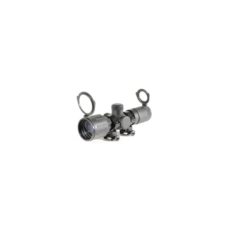 LUNETTE COMPACTE SWISS ARMS REVÊTEMENT CAOUTCHOUC 3-9 X 30PBG 62