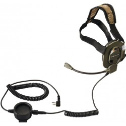 CASQUE MIDLAND AUDIO TACTIQUE MIDLAND POUR ALAN ET ICOMPBG 62Talkie Walkie